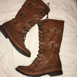 Shoes - Rust Fall Combat Boots 👢